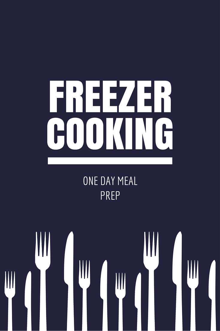Freezer Meal Cooking Day