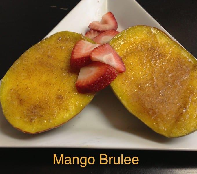 Mango Brulee