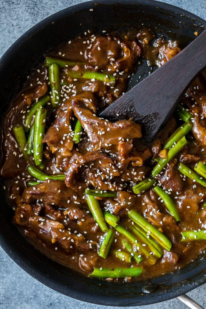 Mongolian Beef: Quick and easy asian dinner solution, this Mongolian Beef is a midweek meal winner.