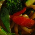 Stir fry veggie noodles