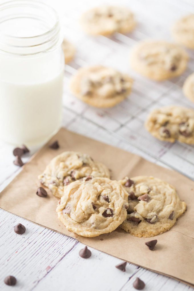 Amazing chocolate chip cookies perfect for after school snacking