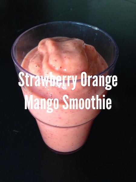 Strawberry Orange Mango Smoothie