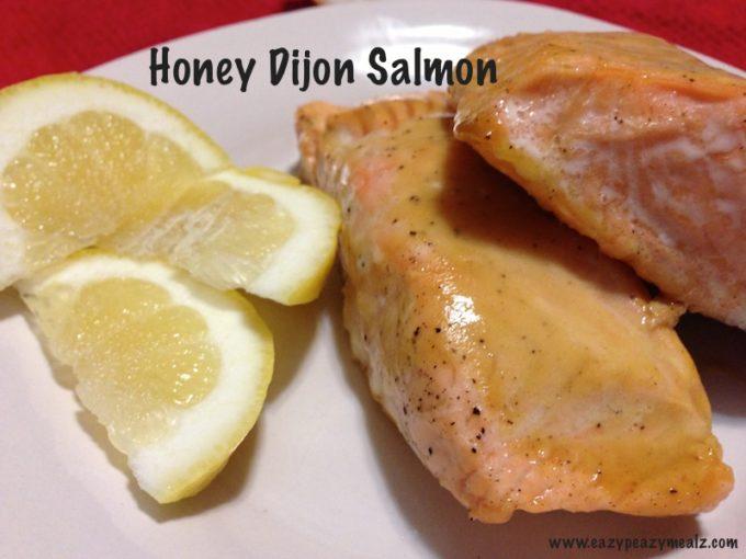 honey dijon salmon
