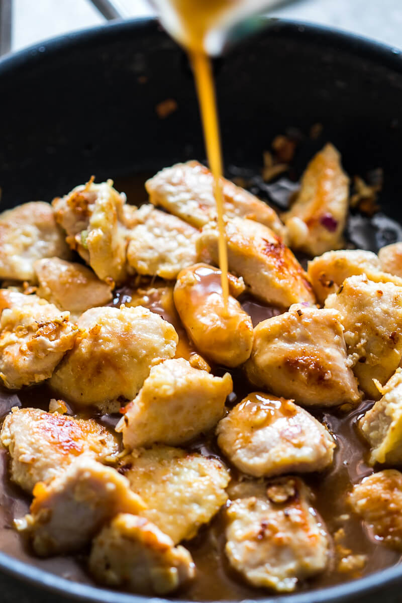 Cashew Chicken that is super simple and easy to make, and makes for a great chicken dinner