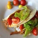 crockpot bbq chicken tacos