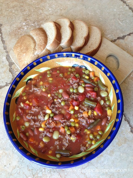 crockpot beef and vegetable soup