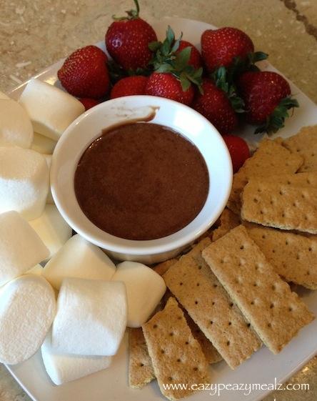 Crock Pot Chocolate Caramel Fondue
