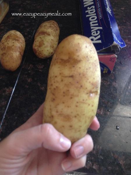 dry potatoes
