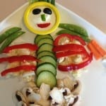 vegetable tray skeleton