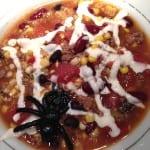 Spider web soup