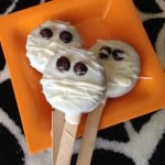 mummy oreo pops