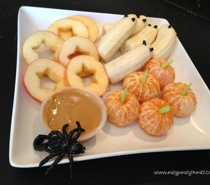 Halloween: Spooky Fruit Tray