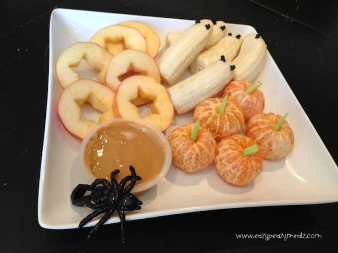 halloween spooky fruit tray easy peasy meals