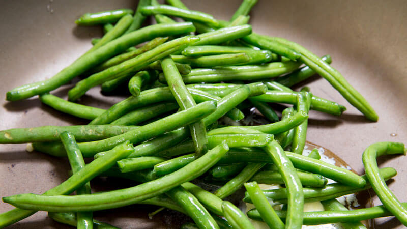 Easy to make green beans, and how to make them taste good