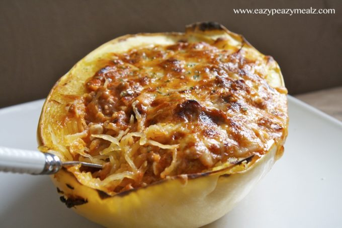 Be sure to check out this Spicy Sausage Spaghetti Squash Lasagna