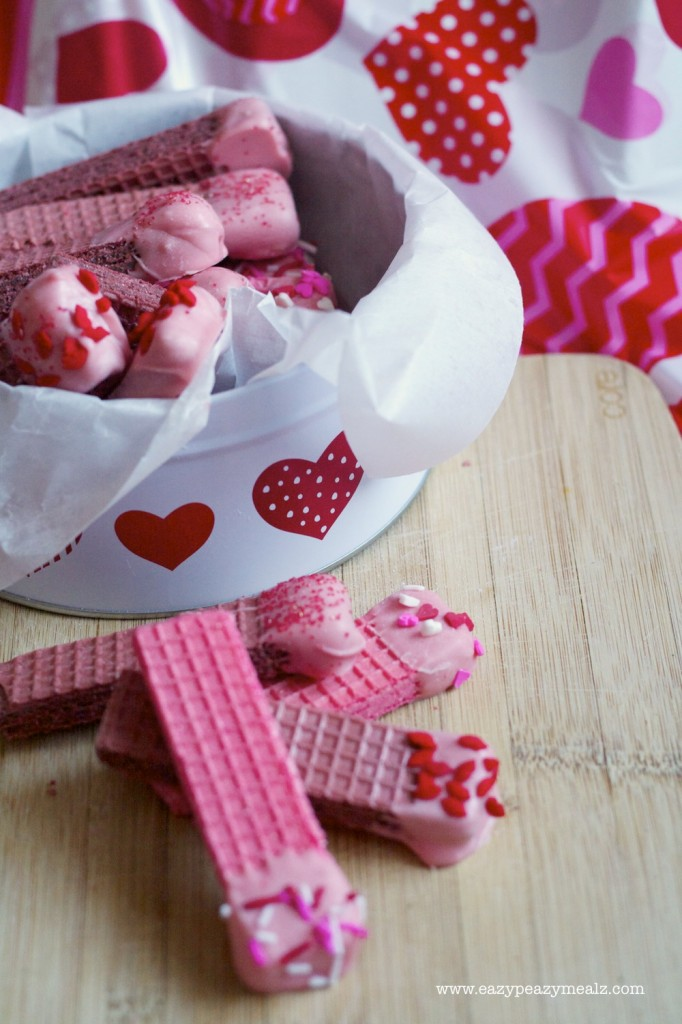 Wafers for Valentine's Day