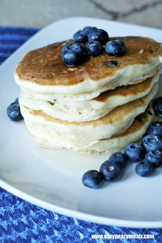 blueberry flapjacks