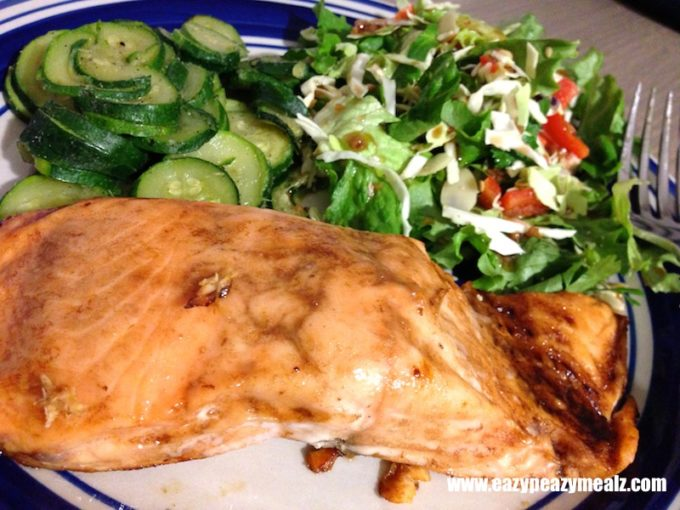 honey balsamic salmon