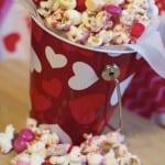 valentines popcorn mix