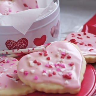 Glazed Sugar Cookies- Cutler's Famous Recipe