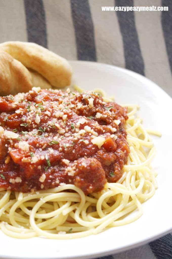 how to make spaghetti and meat sauce