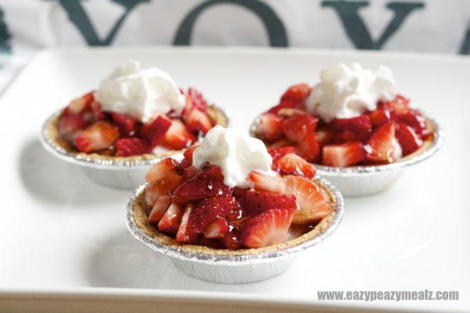 trats, strawberry cheesecake