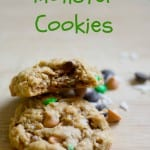 Monster Oat Cookies