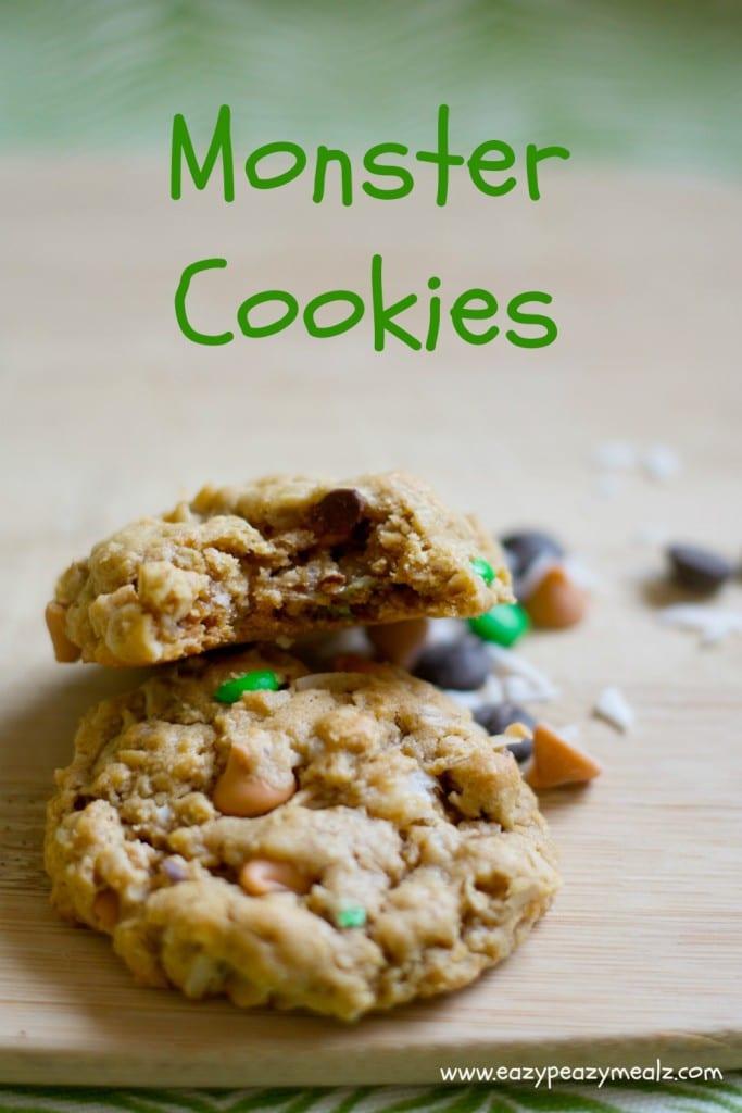 Monster Oat Cookies