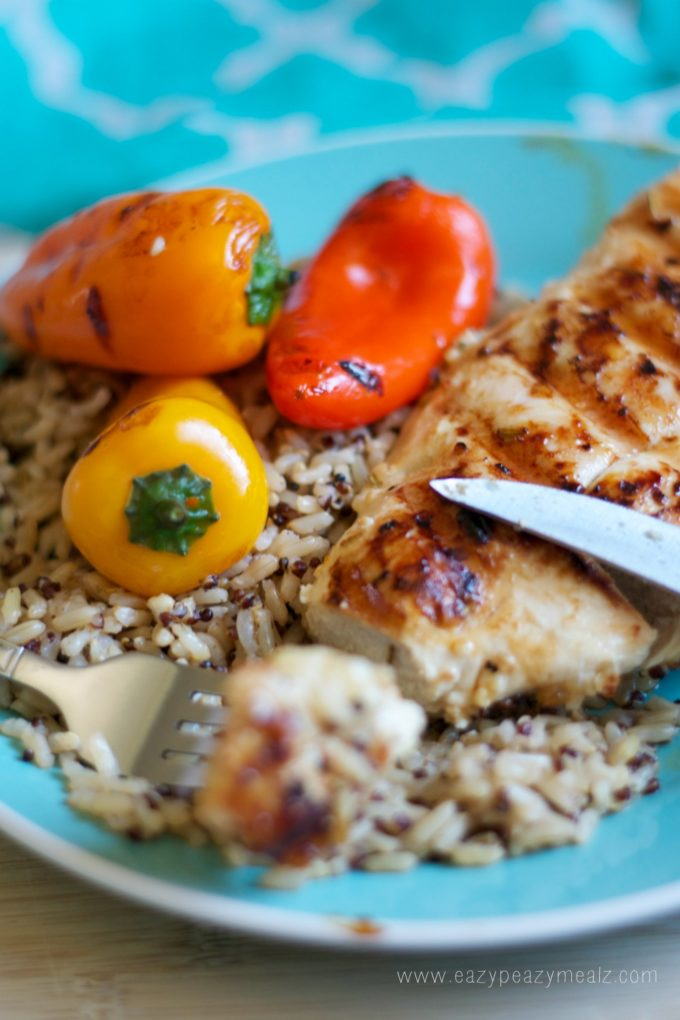 Grilled Chicken Under A Brick With Lemon, Garlic, And Rosemary Recipe ...