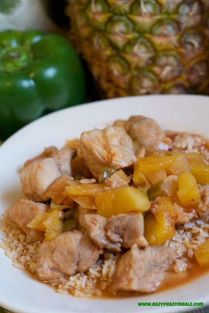 sweet&sour pork crockpot