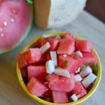 Jicima watermelon salad