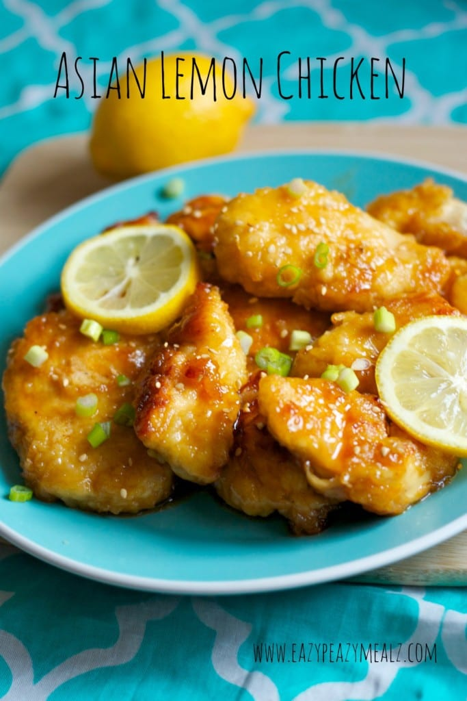 Chinese Lemon Chicken: Lemon Chicken that is delicious and easy to make, with just the right sweet and tangy! Not too much sweet and not too much vinegar.