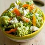 broccoli spinach pesto pasta salad
