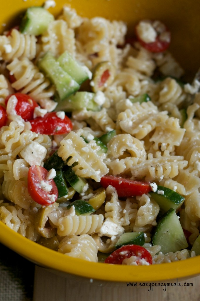 greek pasta salad pic