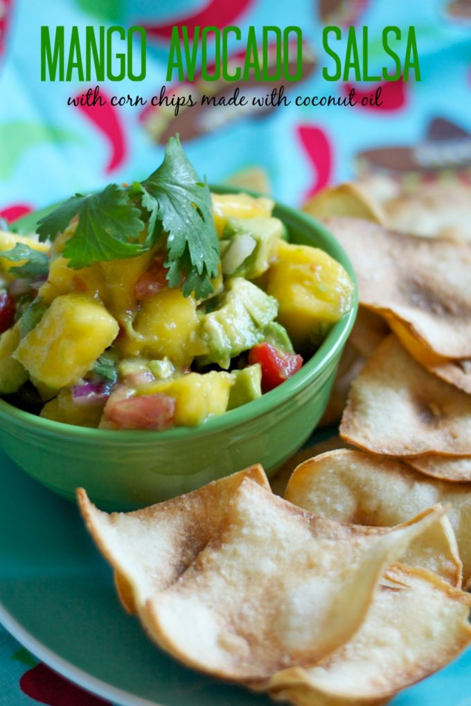 Mango avocado salsa is amazing! A-may-zing! I had some great mangos ...