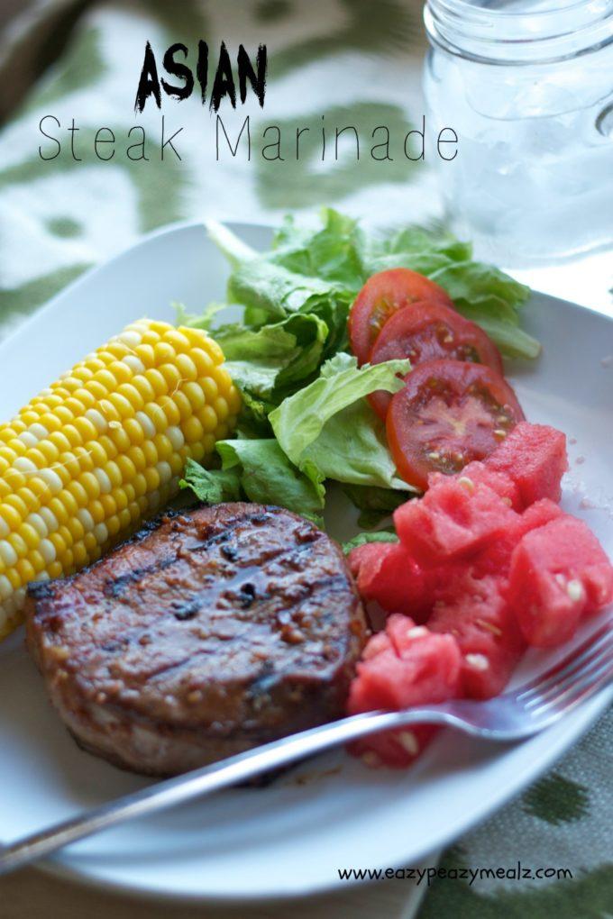 marinade steak Asian for