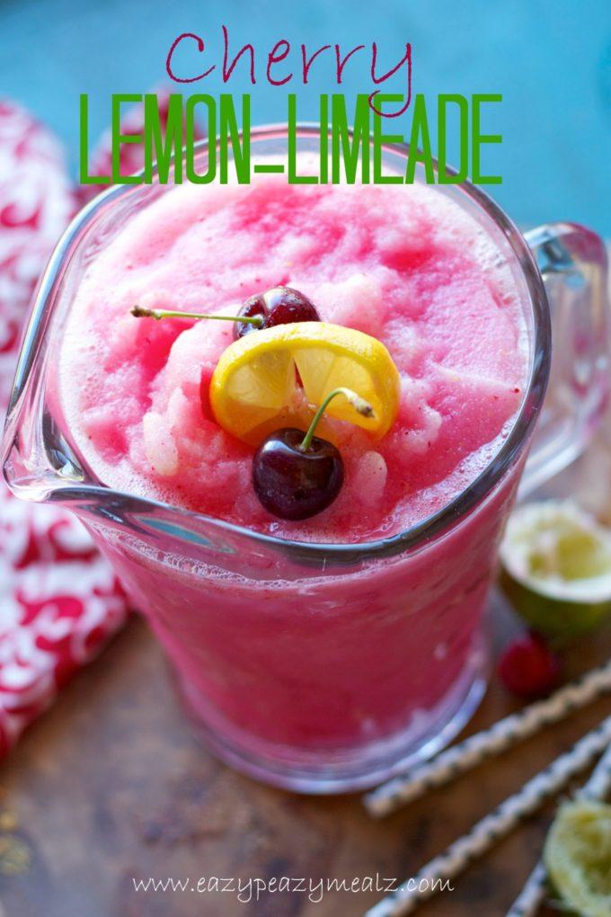 cherry lemon lime ade