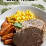 easy, falvorful, moist crockpot pot roast