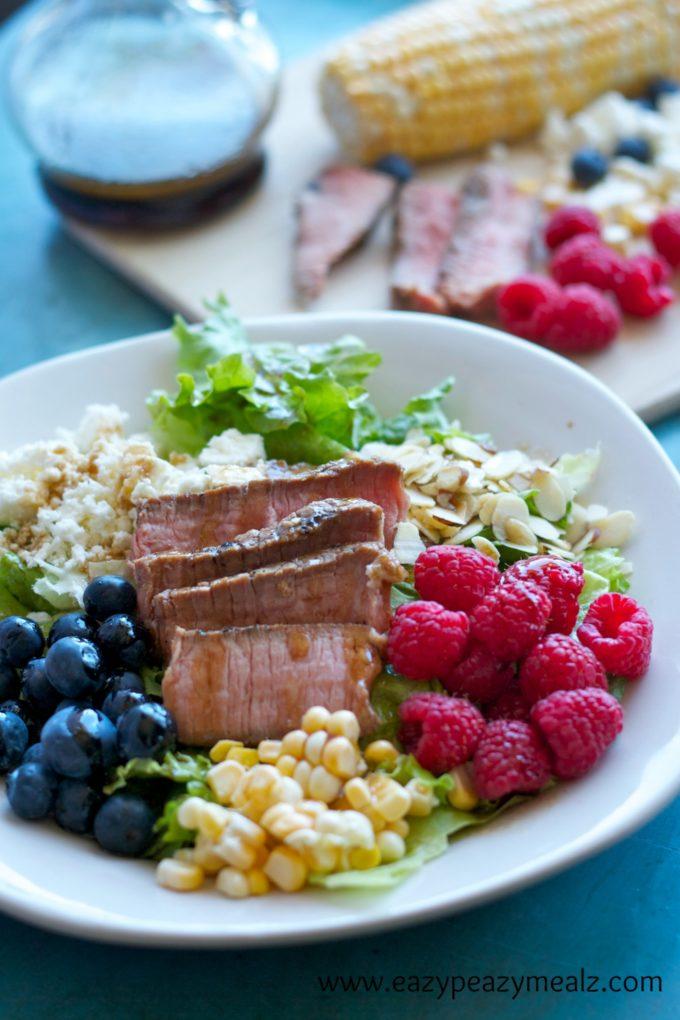 round steak salad