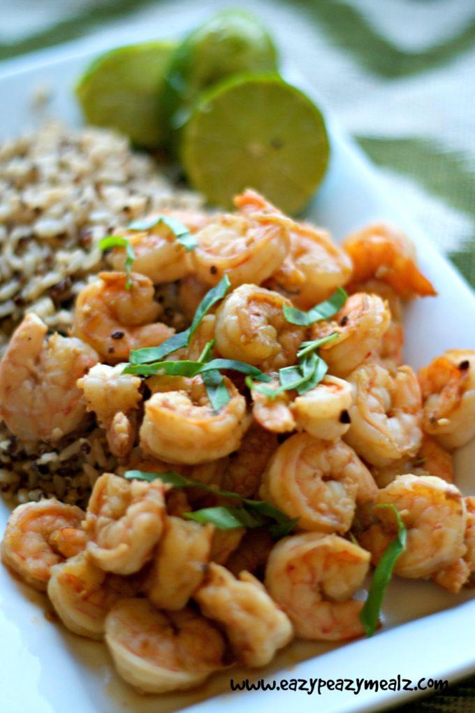 shrimp coconut lime