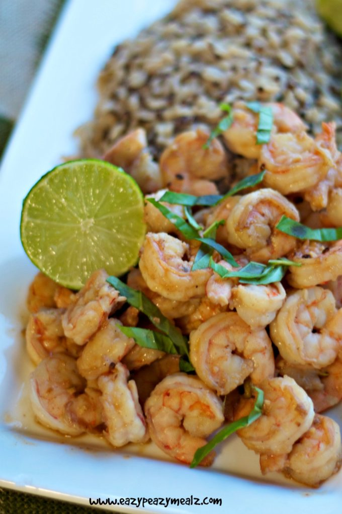 Day 18 cook at home coconut lime shrimp eazy peazy mealz What to make with shrimp for dinner