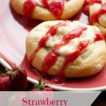 strawberry breakfast pastry