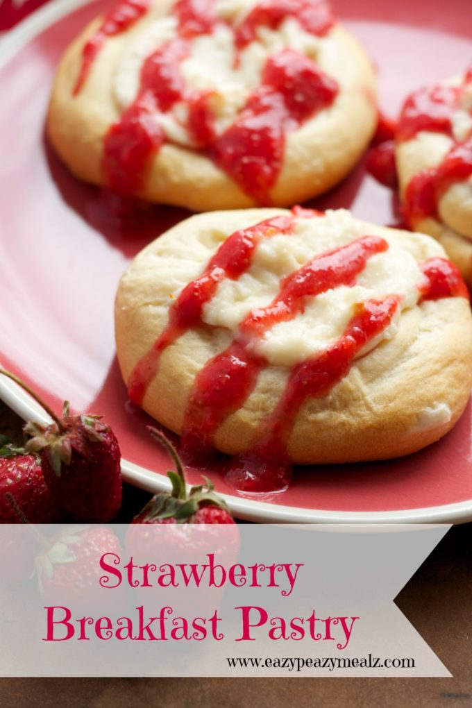 Strawberry Breakfast Crescents Recipes — Dishmaps