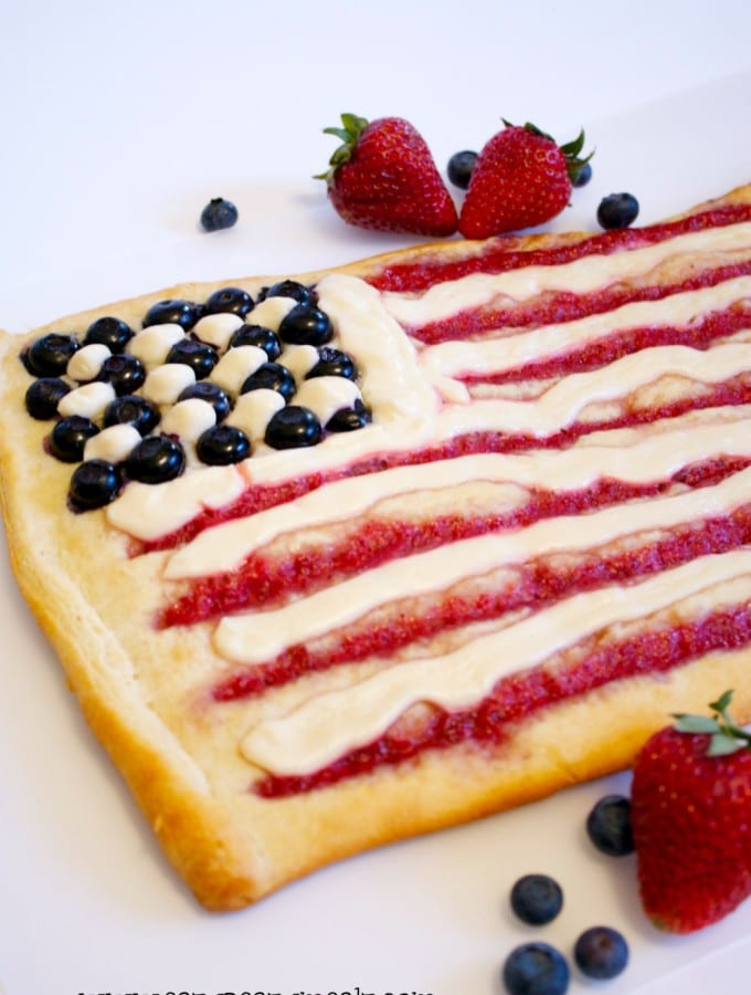 Easy July 4th Breakfast Pastry