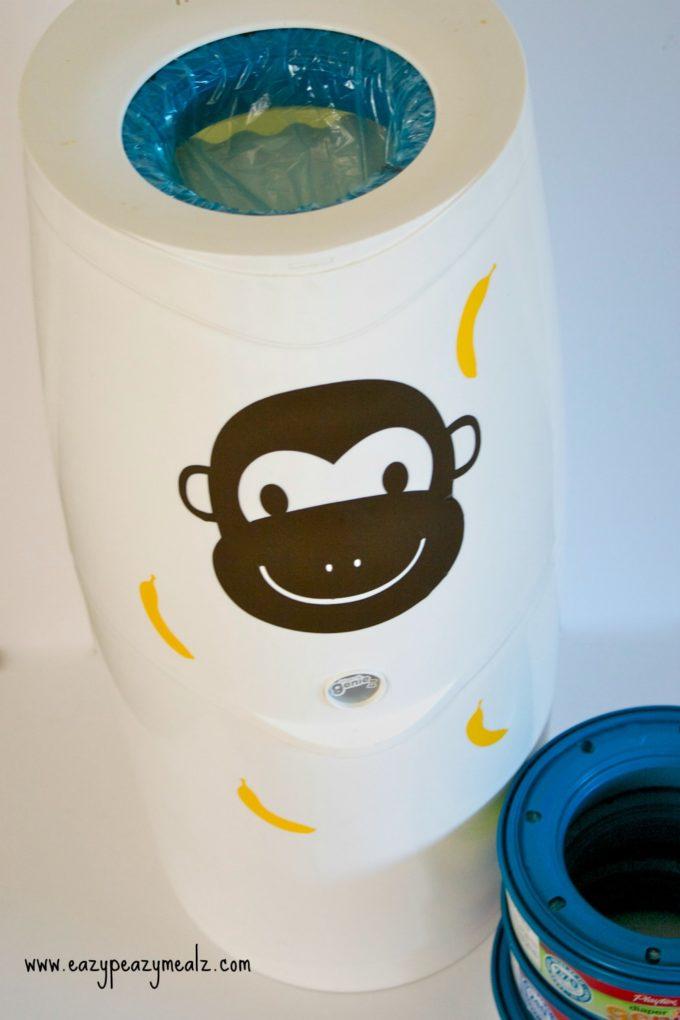 monkey diaper genie