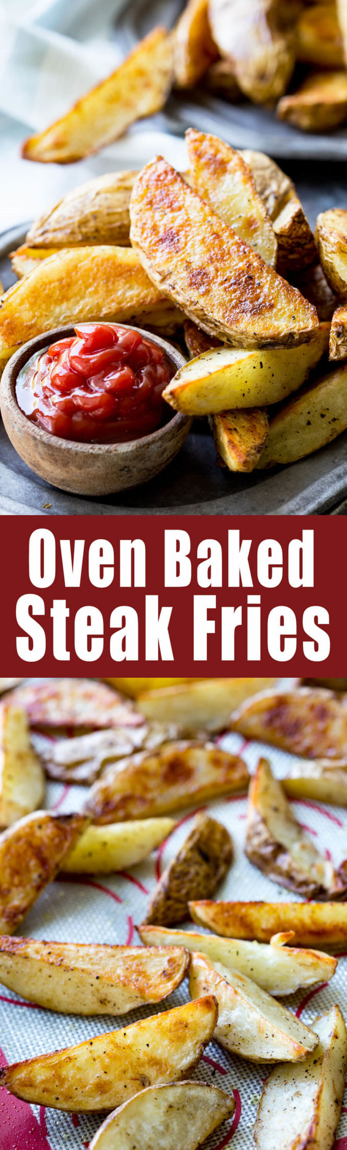 how to cut steak fries baked
