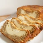 cream cheese banana bread loaf