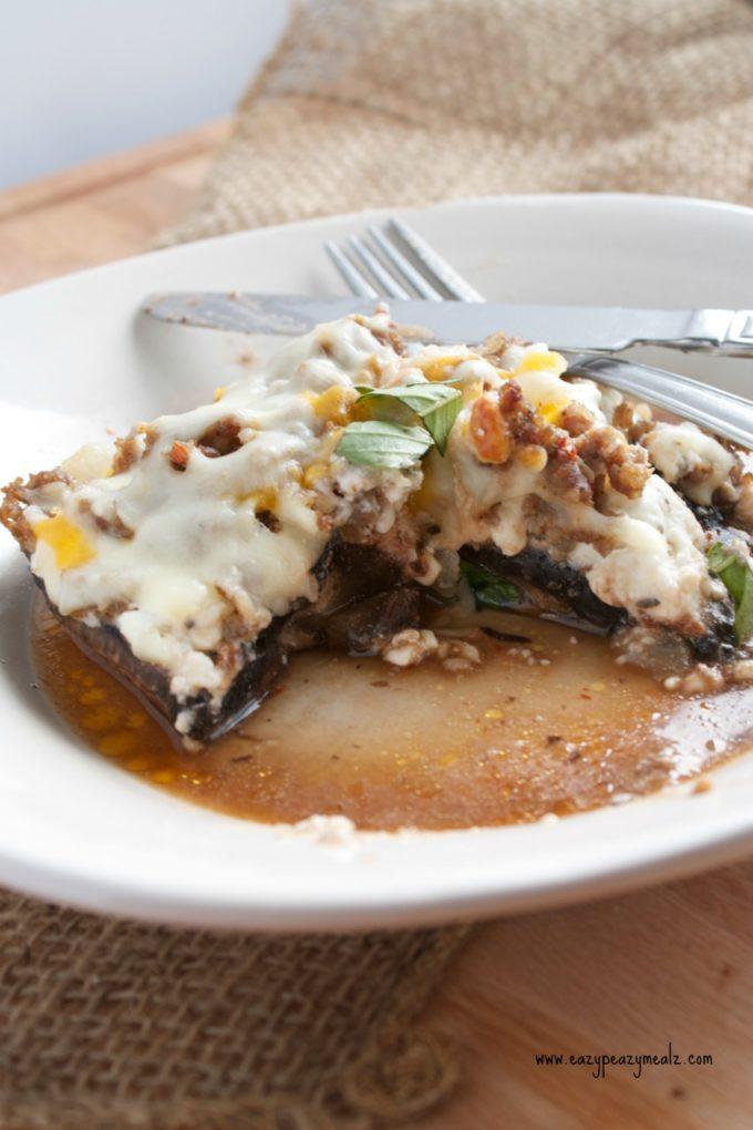 lasagna portobello