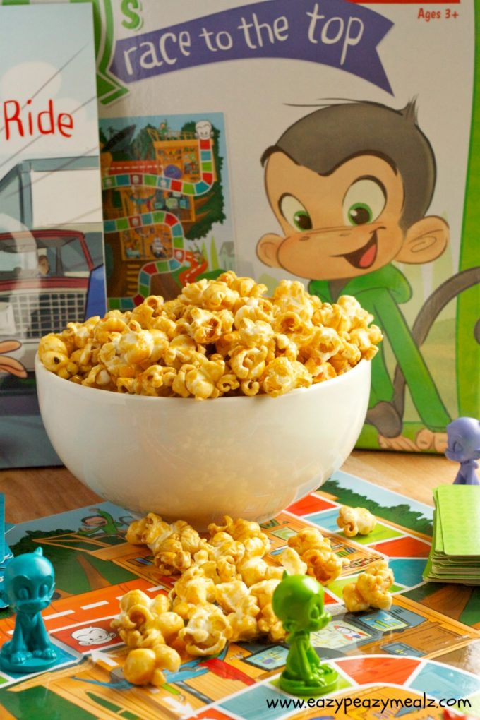 perfect game night popcorn