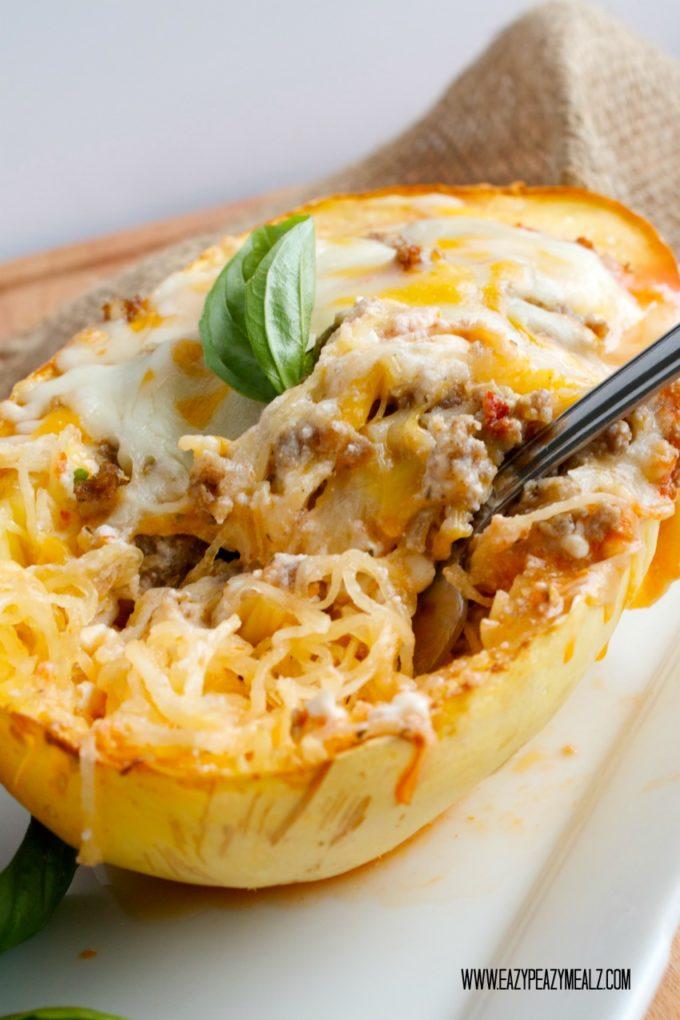 Spaghetti Squash Lasagna Recipes — Dishmaps